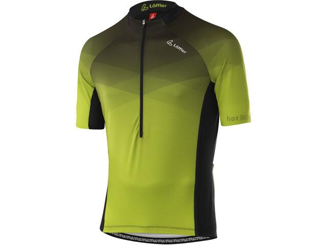 Löffler hotBOND RF Half-Zip Bike Jersey Men, light green